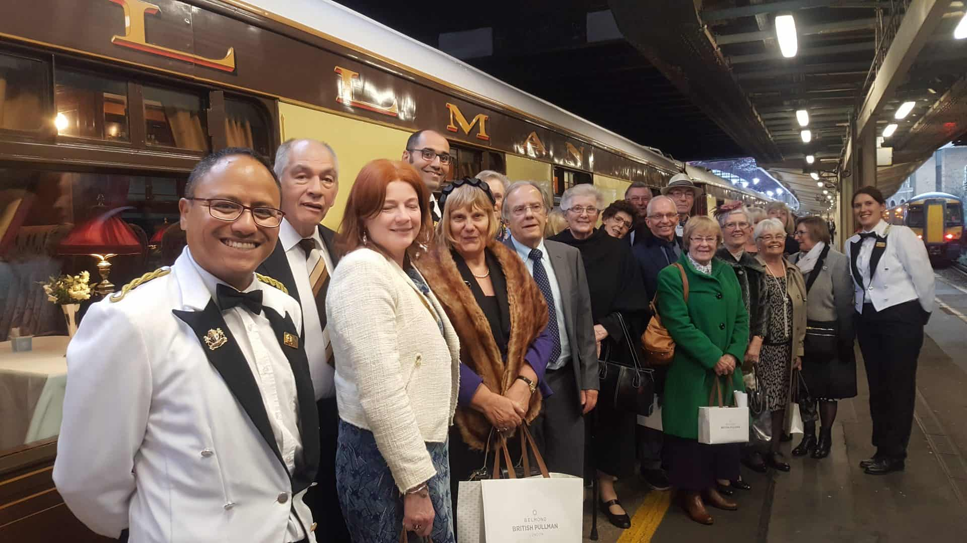 BELMOND-PULLMAN-ORIENT-EXPRESS LUXURY LUNCH